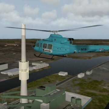 Thumbnail for Sværhedsgraden stiger - Ind over Randers i helikopter